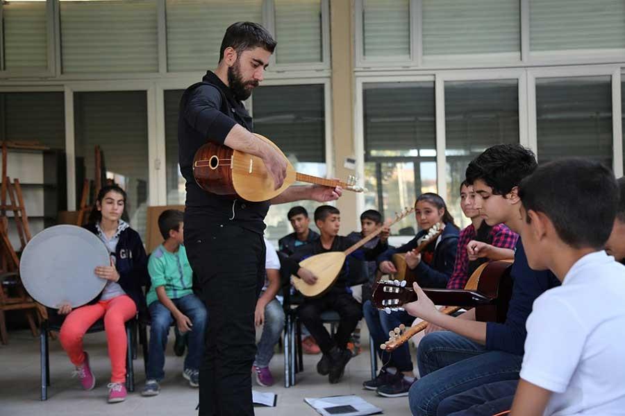 Çocuk korosundan Kürtçe albüm