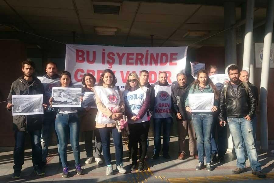İzmir'de İzban işçilerine ziyaret