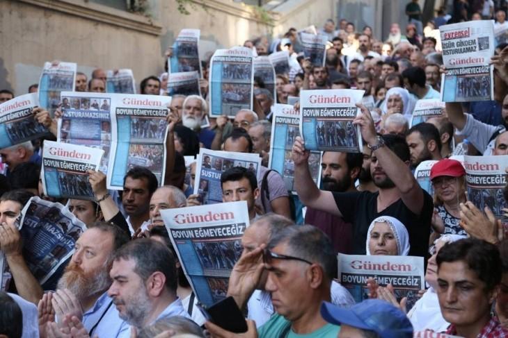 Özgür Gündem davalarında basın özgürlüğü savunuldu