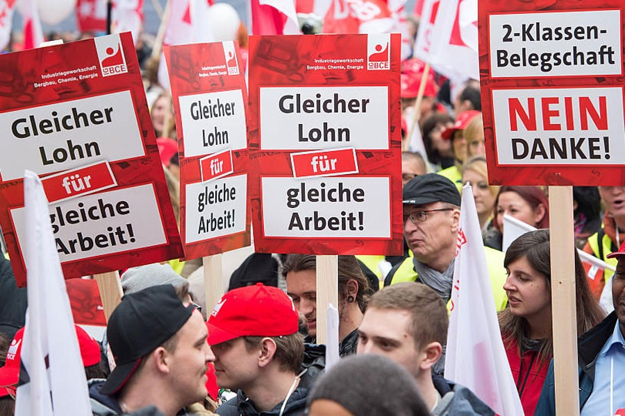Almanya'da ücretler arasında fark artıyor