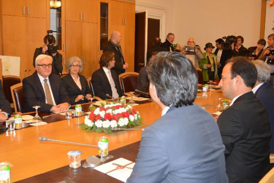HDP heyeti, Almanya Dışişleri Bakanı Steinmeier ile görüştü