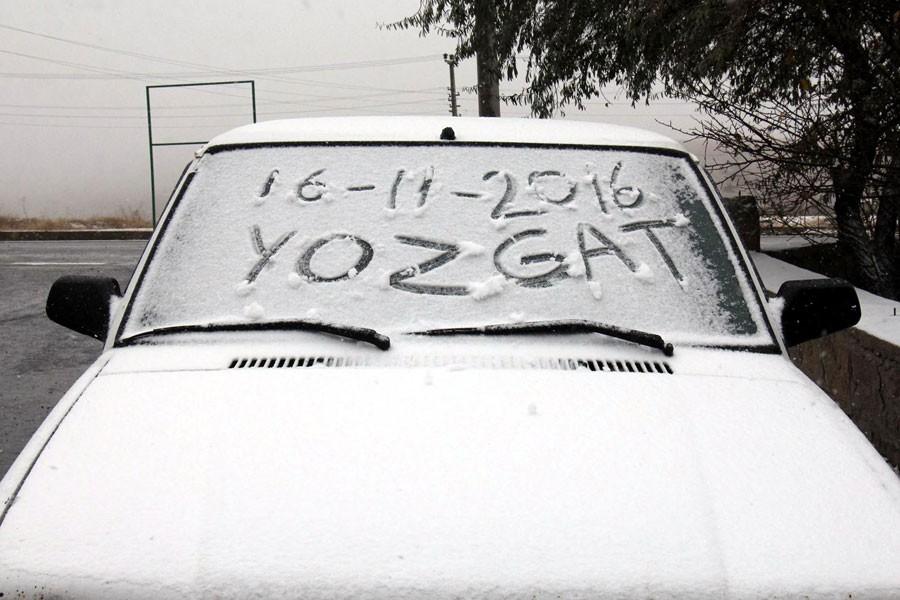 Havalar soğudu, illere mevsimin ilk karları düştü