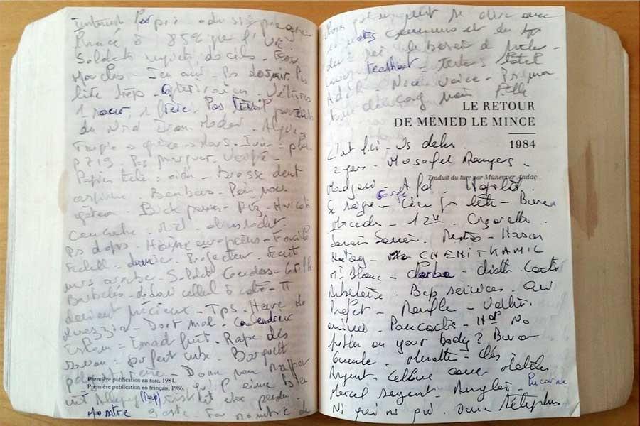 Gözaltında yaşadıklarını İnce Memed'in boşluklarına yazdı