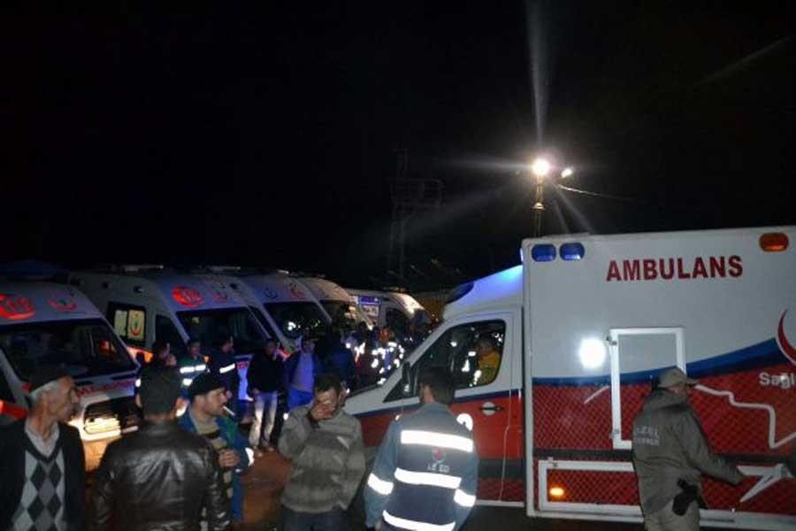 Siirt'te madende şev kayması: 6 işçi yaşamını yitirdi