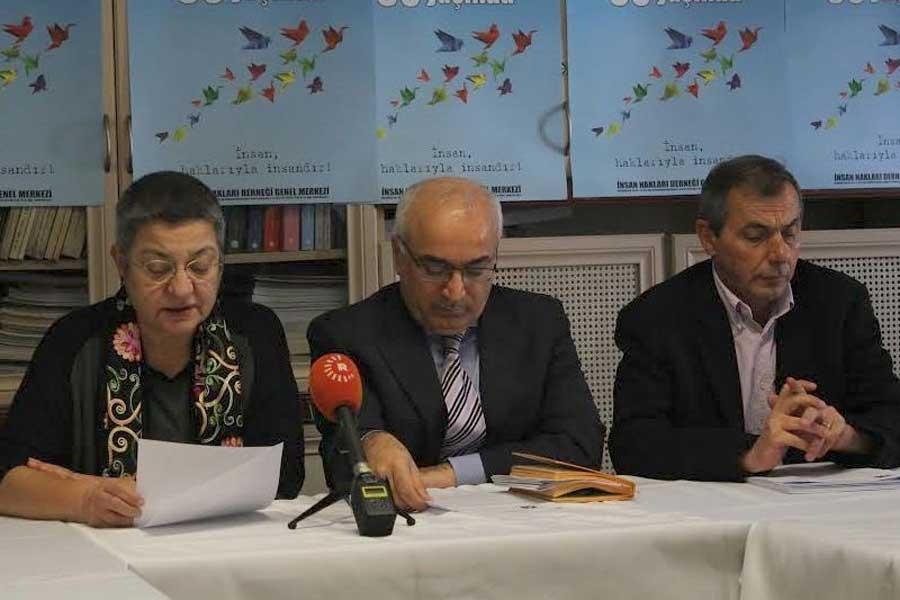 'İnsan hakları ve hukuka mühür vurulamaz'