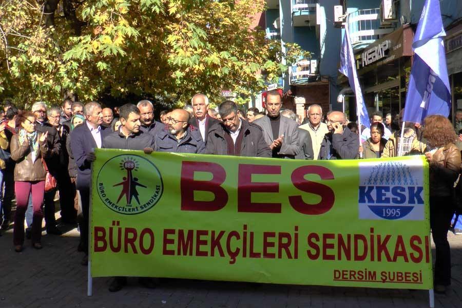 Dersim'de tutuklamalar protesto edildi