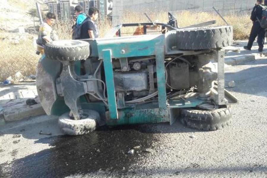 Forklift devrildi: 1 işçi öldü, 1 işçi yaralandı