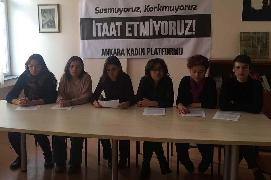 Kadınlar 25 Kasım'a çağrı yaptı