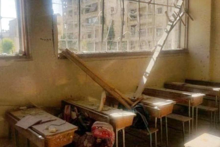 Çihatçılar Halep'te okula  saldırdı, çocuklar öldü