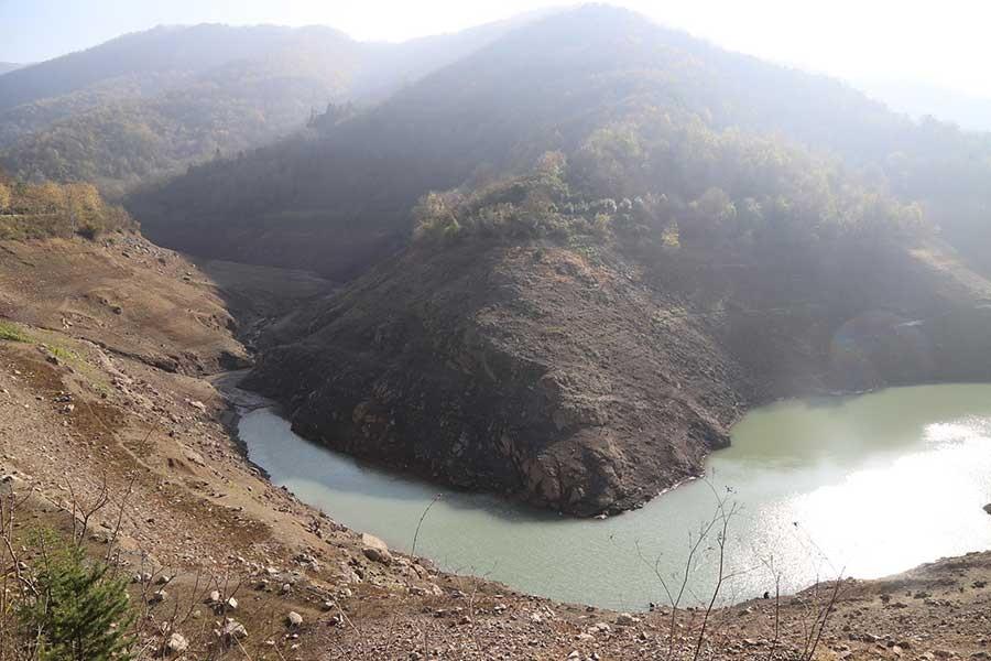 Yuvacık Barajı'nda su seviyesi yüzde 22'ye düştü