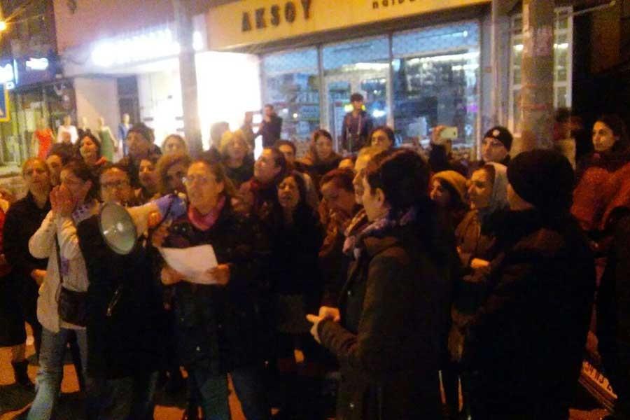 İstismara cezasızlığa bir tepki de Alibeyköy'den geldi