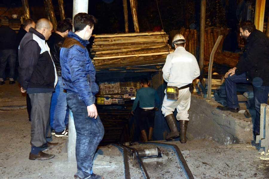 Zonguldak'ta madende göçük: 1 işçi mahsur, 1'i kurtarıldı