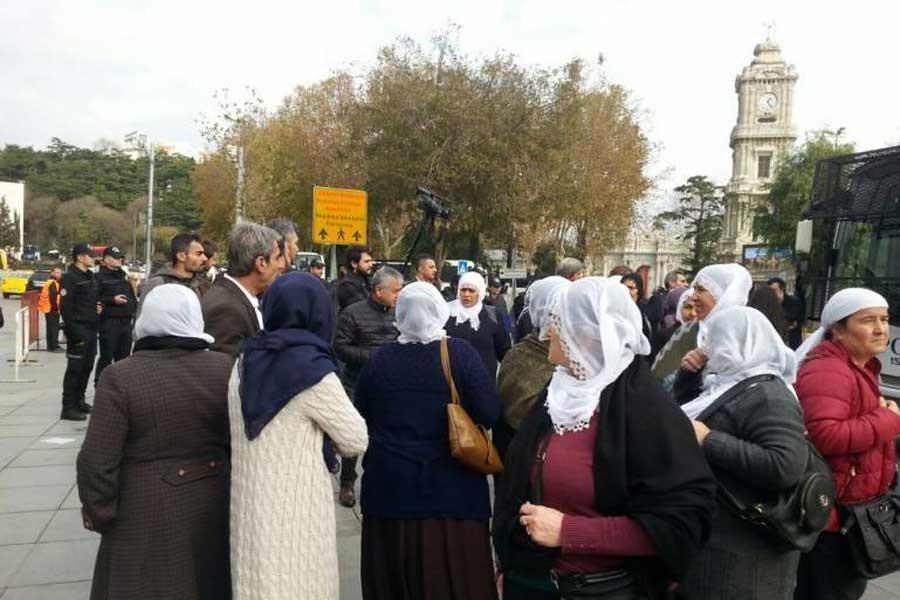Polisten Barış Annelerine: Ülkede zaten barış var