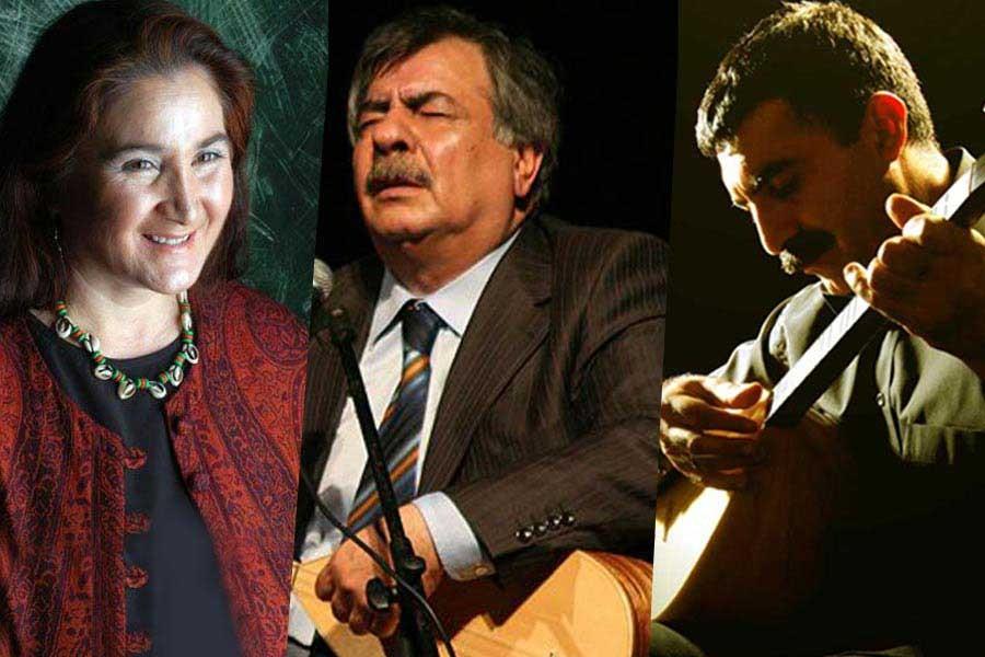 Halk müziğinin ustalarından türkü ziyafeti