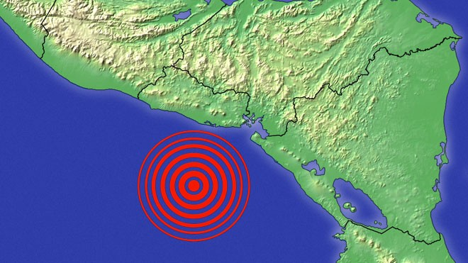 Orta Amerika 7.2 ile sallandı, Tsunami uyarısı yapıldı