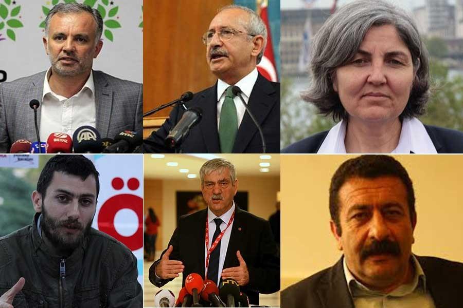 Siyasi parti ve sendikalar: Suriye'de savaşa hayır