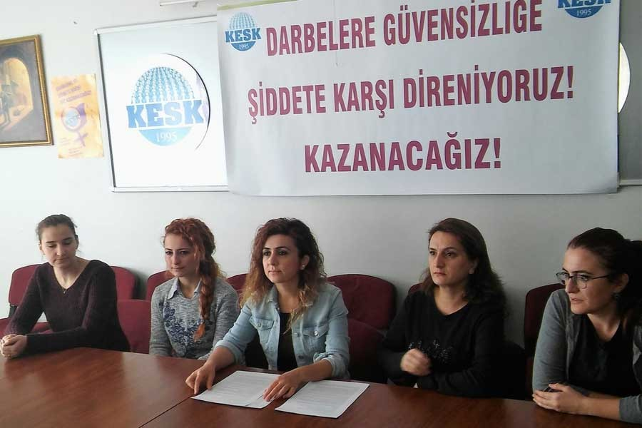 Antep'te KESK'li kadınlar: Darbelere direniyoruz