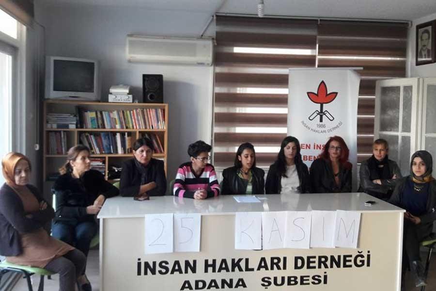 İHD Kadın Komisyonu: Şiddete karşı isyandayız