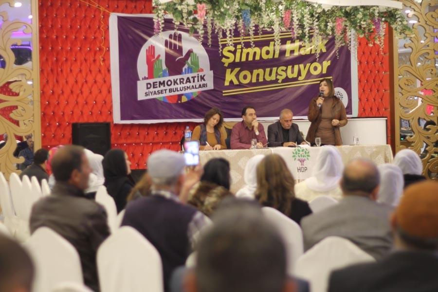 HDP demokratik buluşmalara Adana'da devam etti