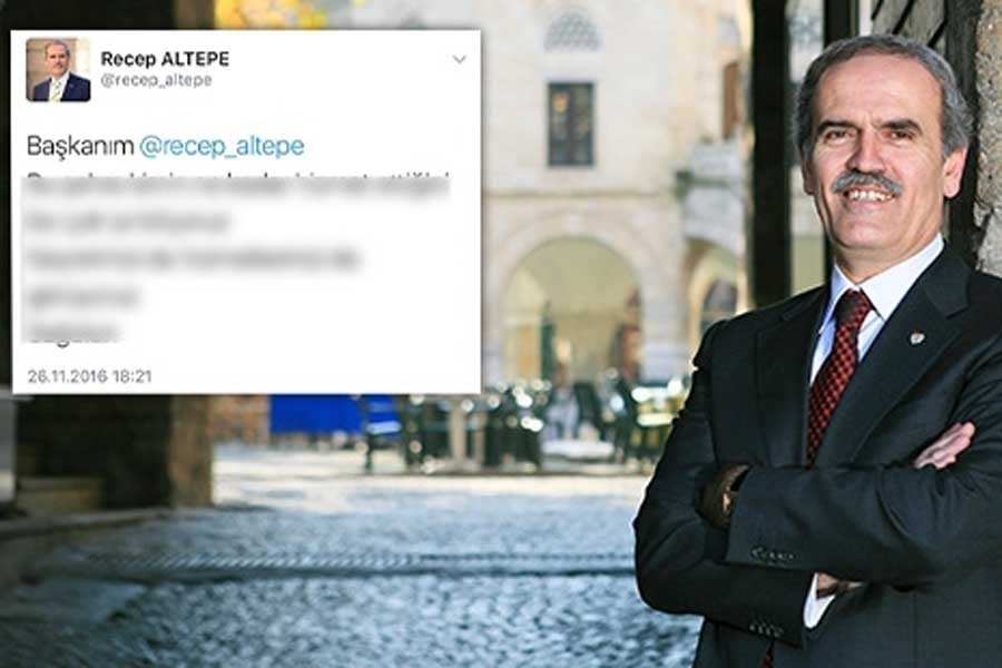 Bursa Büyükşehir Belediye Başkanı'nın sahte hesap macerası!