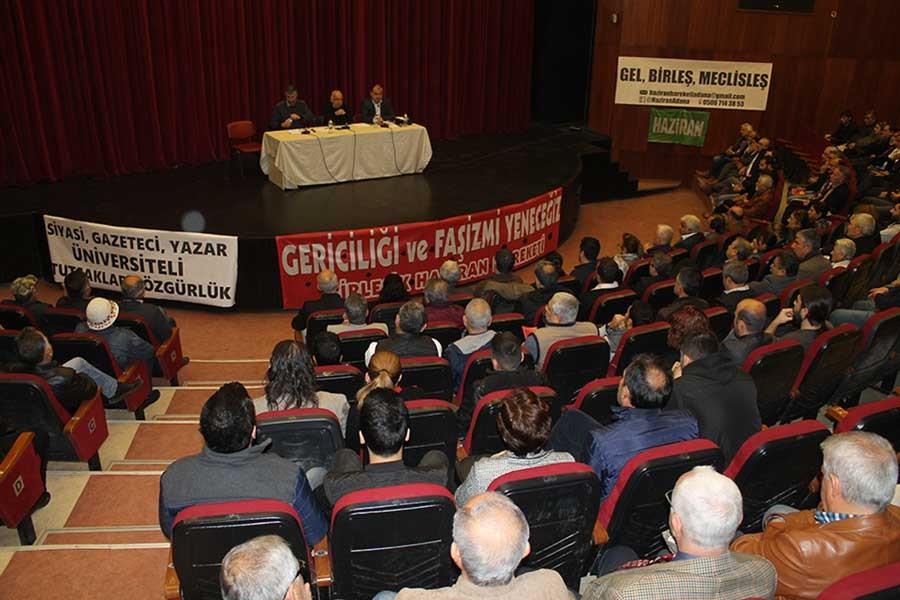 BHH, Demokrasi ve laiklik paneli düzenledi
