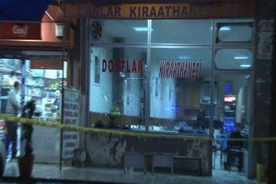 Sultanbeyli'de kahvehaneye silahlı saldırı: 4 yaralı