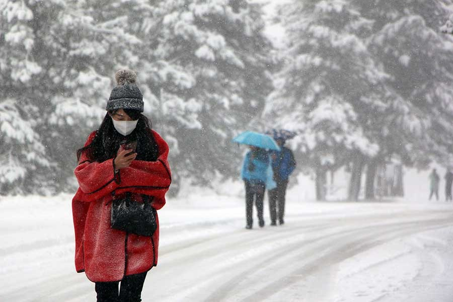 Abant'ta kış güzelliği
