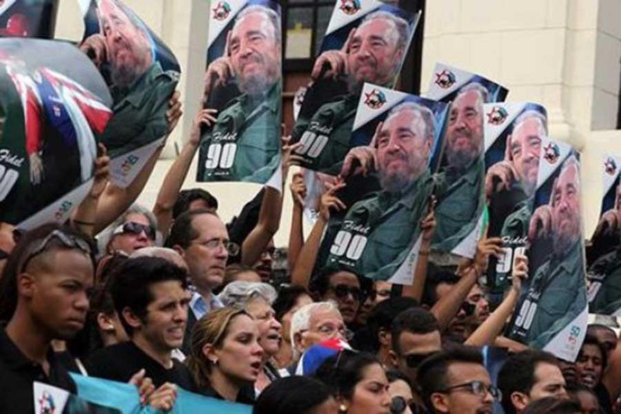 Fidel'in külleri gömüldü
