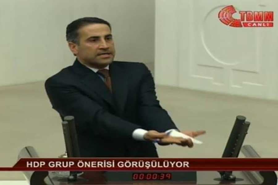 Meclis TV'den HDP sansürü