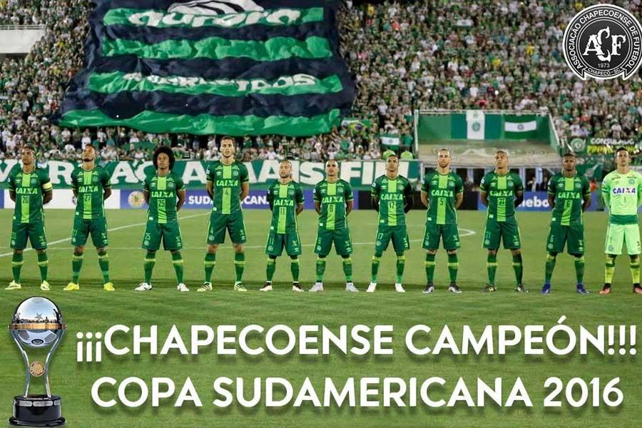Chapecoense, Copa Sudamericana şampiyonu