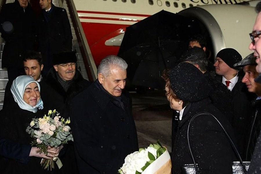 Başbakan Yıldırım Moskova'da