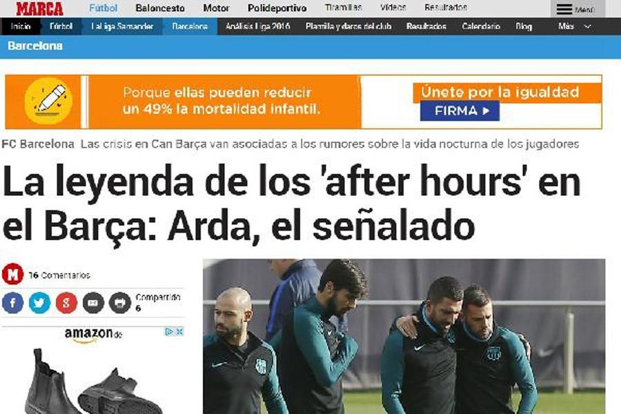 İspanyol gazetesi Marca'da Arda ve Rafinha iddiaları