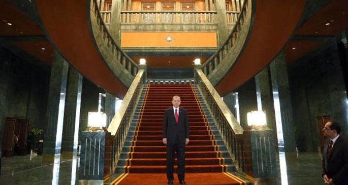 Erdoğan'ın sarayı dış basında