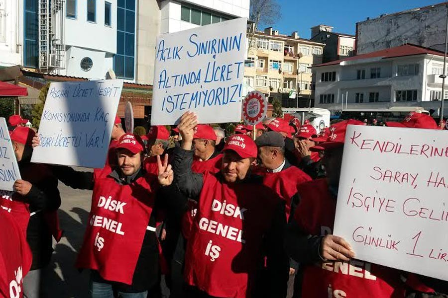 İşçiler tepkili: Doğacak çocuklarımız bile bankalara borçlu