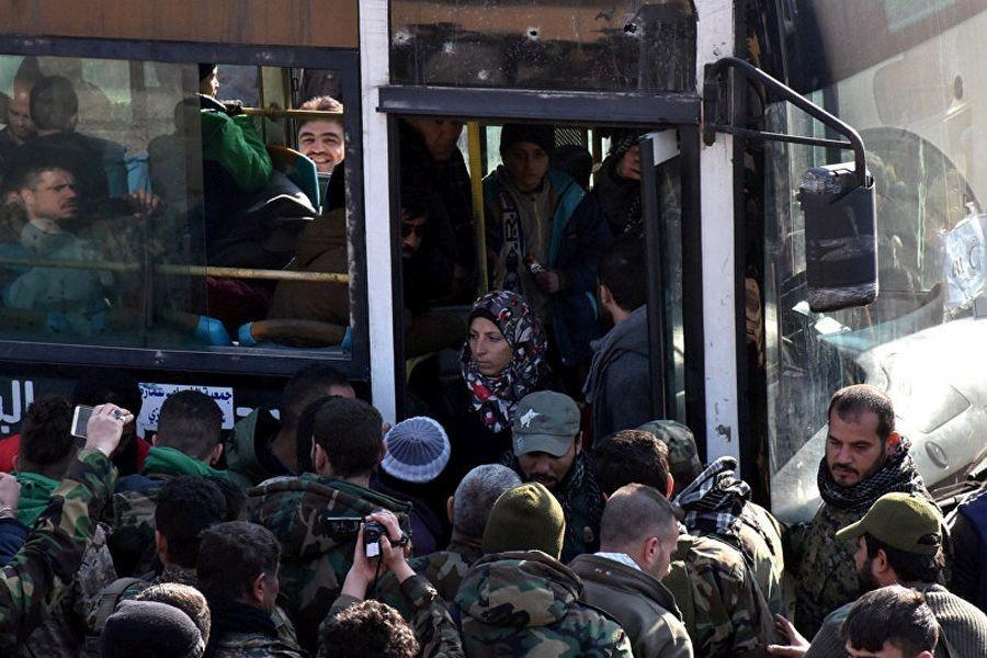 Tahliyelere yine el Nusra engeli