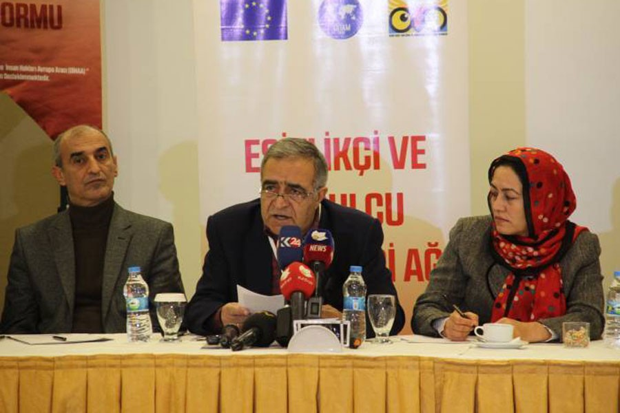 Diyarbakır'da 52 örgütten barış ve demokrasi çağrısı