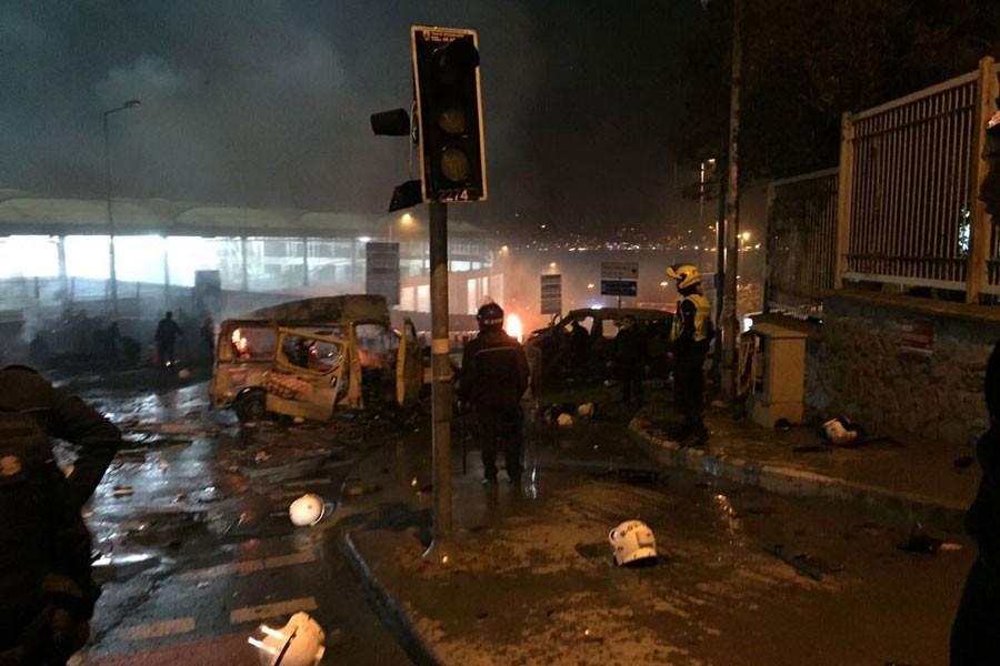 Beşiktaş saldırısı soruşturmasında 5 tutuklama