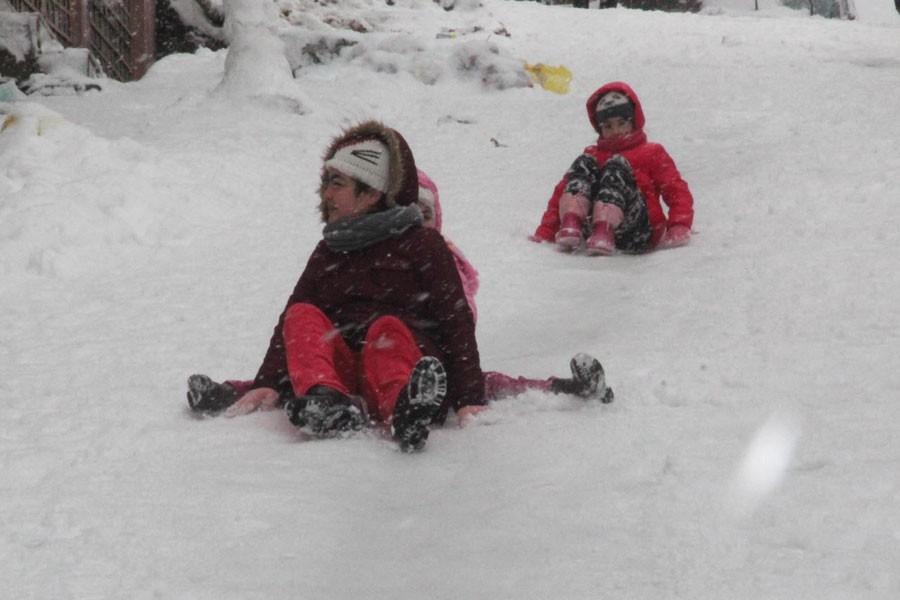 Trabzon'un Şalpazarı ilçesinde okullara kar tatili