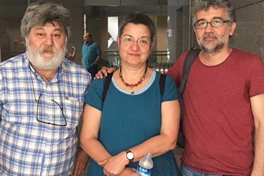 Fincancı, Önderoğlu ve Nesin'in davası 21 Mart'a ertelendi