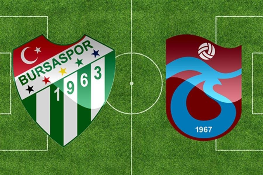 Süper Lig, Bursaspor-Trabzonspor maçıyla dönüyor