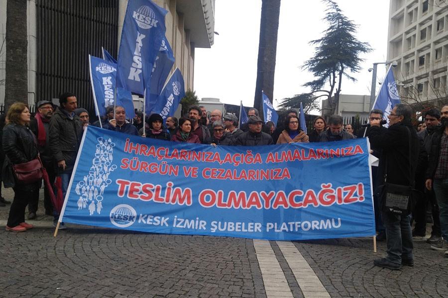 KESK İzmir Şubeler Platformu: Mücadele etmeye devam edeceğiz