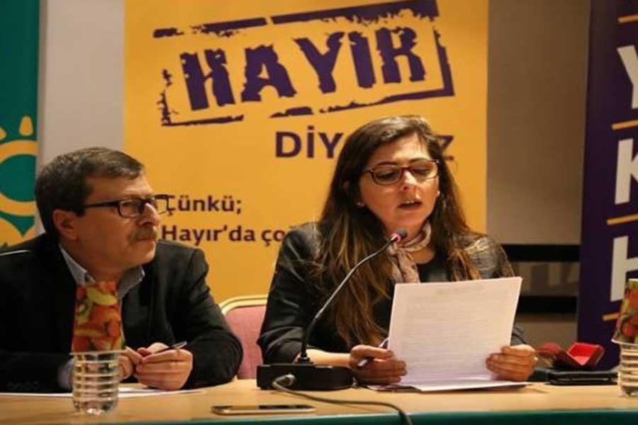 Yeşil Sol Parti'den 'Bir Hayır Yeter' kampanyası