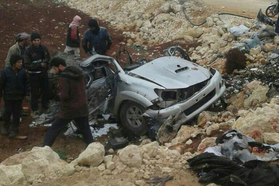 Ahrar Şam komutanı, Koalisyon saldırısında öldürüldü