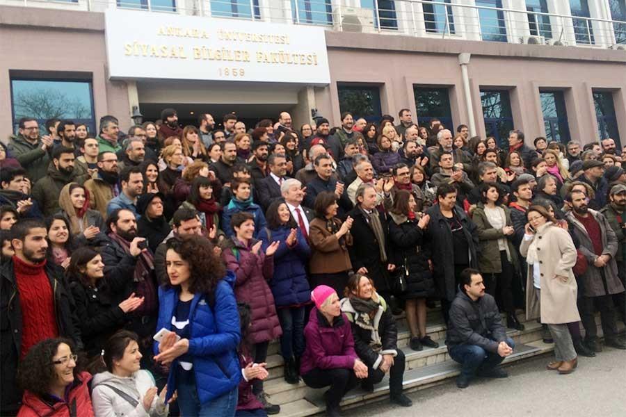 Ankara üniversitesi akademisyenleri: Barış demeye devam