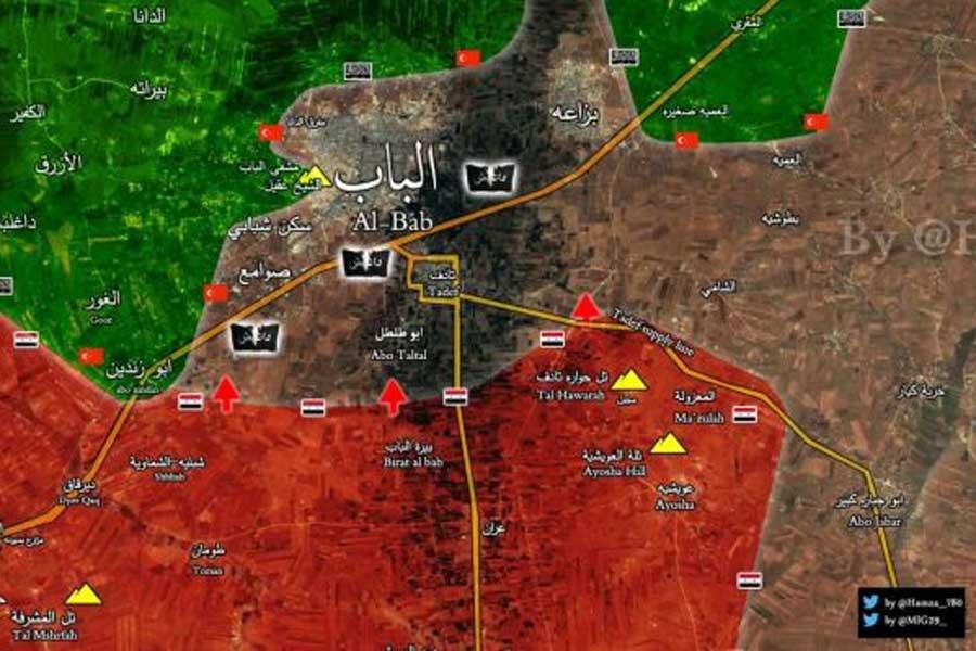 Suriye ordusu el Bab'ın güneyinde bir köyü daha ele geçirdi