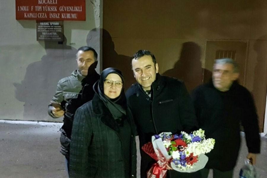 HDP'li Ferhat Encu cezaevinden tahliye oldu