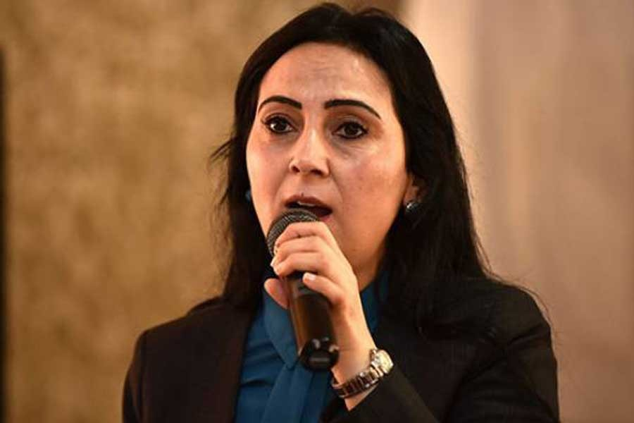Figen Yüksekdağ Davutoğlu'ya hakaret iddiasından yargılandı