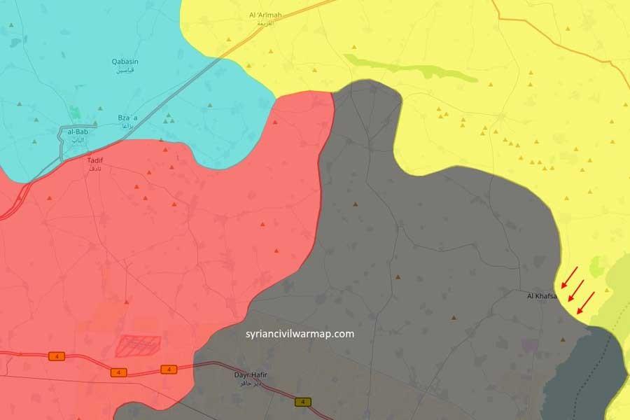 SDG, IŞİD'in kontrolündeki el Hafsa'ya doğru ilerliyor