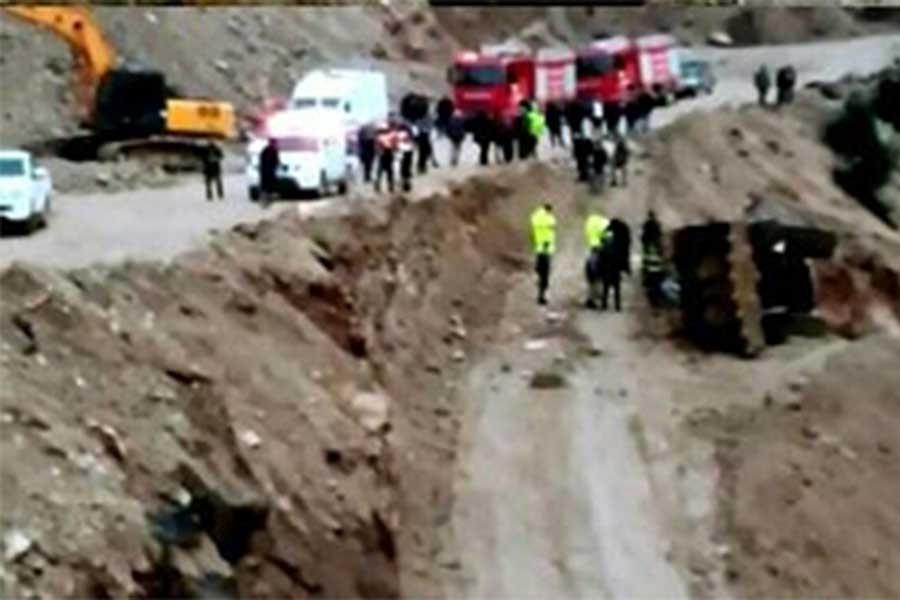Hatay'da taş ocağında iş cinayeti