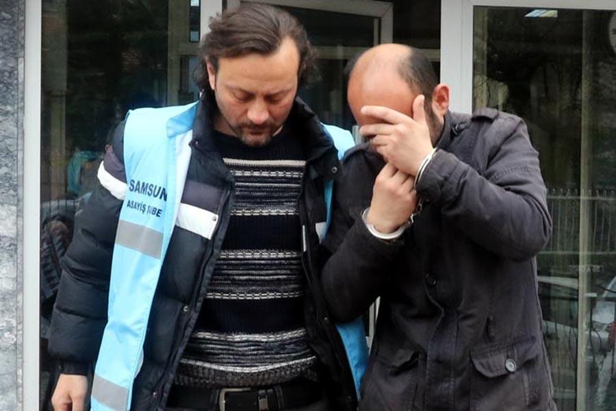 Samsun'da cinsel taciz şüphelisi serbest kaldı